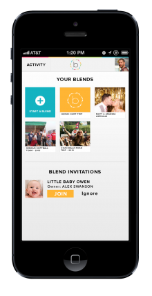 Blend It Photo and Video Sharing Application – Web and Mobile UI Case Study