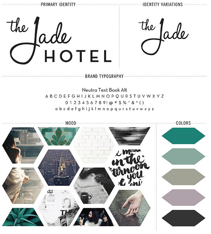 Jade Hotel Branding