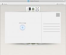 Postcard Image Storytelling Tool – Web UI Case Study