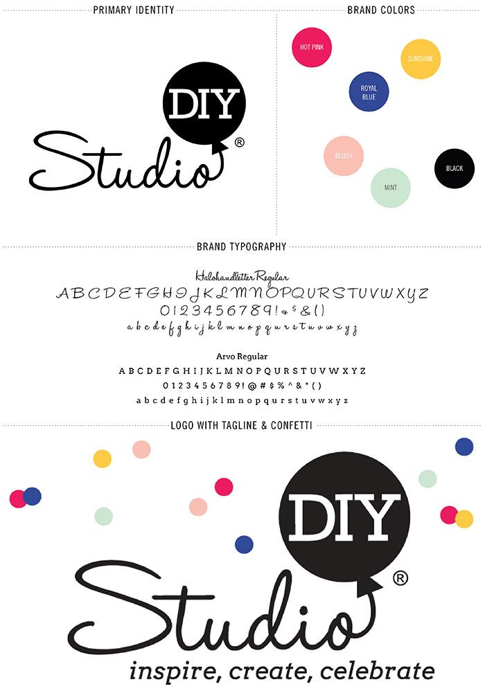 StudioDIY Branding