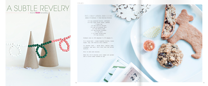 A Subtle Revelry Magazine: The Holiday 2012 Issue